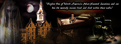 TRANS-ALLEGHENY LUNATIC ASYLUM Haunted Bus Trip // Presented by Haunted Hamilton on Saturday, April 25, 2015