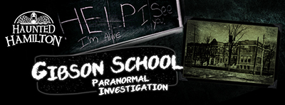 Saturday, October 10, 2015 7:30 - 11:30 PM THE CUSTOMS HOUSE Paranormal Investigation Join us as we return to Hamilton's MOST HAUNTED building, home to the City's OLDEST & Most Legendary ghost, The Dark Lady!